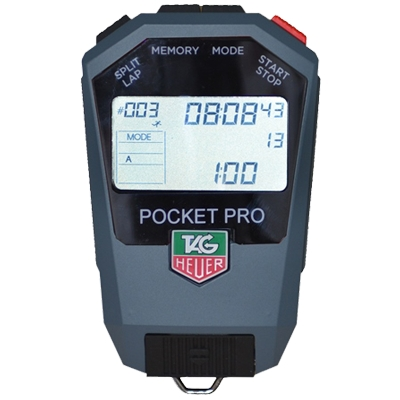 Cronometro Professionale HL400-R Pocket-Pro Rally Tag Heuer